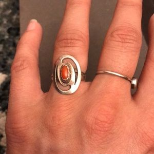 Jewelry - Handmade carlenian stone ring